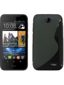 Funda S-case TPU HTC Desire 310 negra