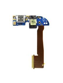 Cable flex de conector de carga y manos libres HTC One M8