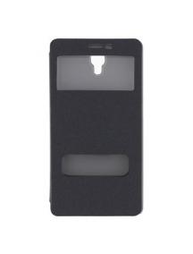 Funda libro Pudini S-view para Xiaomi Redmi Note gris