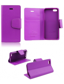 Funda libro TPU Goospery iPhone 6 Plus lila