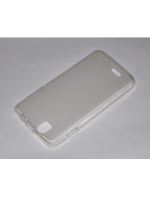 Funda TPU Kazam Trooper 4.5.0 transparente