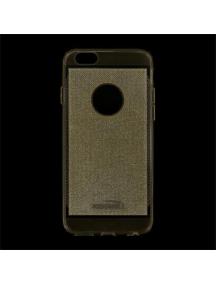 Funda TPU Kisswill Shine iPhone 6 dorada