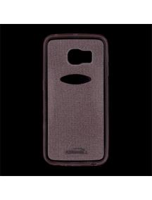 Funda TPU Kisswill Shine Samsung Galaxy S6 Edge G925 rosa