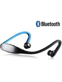 Manos libres bluetooth sport negro - azul