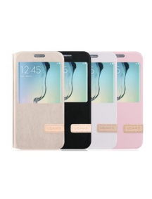 Funda libro S-View Usams Muge Samsung Galaxy A5 2016 A510 rosa d