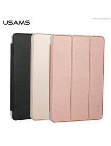 Funda libro USAMS Uview iPad Pro dorada