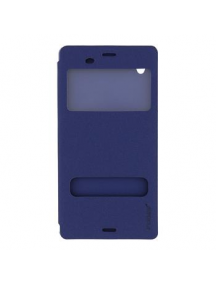 Funda libro Pudini S-view Sony Xperia Z3 D6603 azul