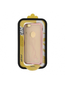 Funda TPU Remax Circle iPhone 6 - 6s rosa dorado