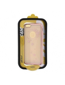 Funda TPU Remax Star iPhone 6 - 6s rosa dorado