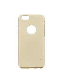 Funda TPU Goospery iPhone 6 - 6s dorada