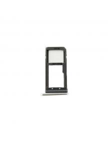 Zócalo de SIM + micro SD Samsung Galaxy S7 Edge G935 negro