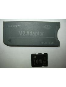 Tarjeta Memory Stick Micro 256Mb