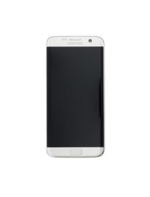 Display Samsung Galaxy S7 Edge G935 plata