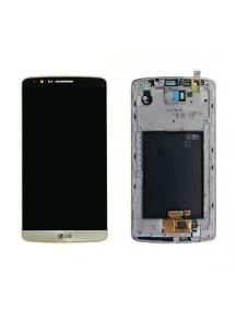 Display LG G3 D855 dorado original