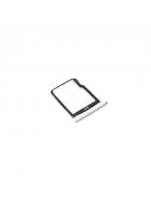 Zócalo de SD BQ Aquaris X5 plata