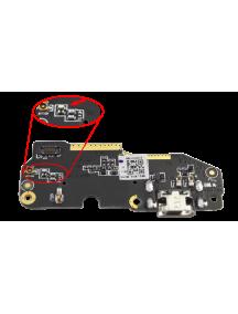 Placa de conector de carga BQ Aquaris X5 serie Green