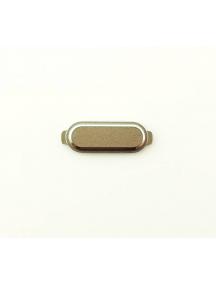 Botón home externo Samsung Galaxy J1 2016 J120F dorado