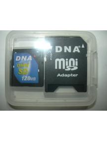 Tarjeta de Memoria Mini SD 128Mb