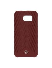 Protector trasero rígido Mercedes MEHCS6PERE Samsung Galaxy S6