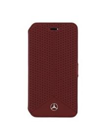 Funda libro Mercedes MEFLBKS6PERE Samsung Galaxy S6 G920