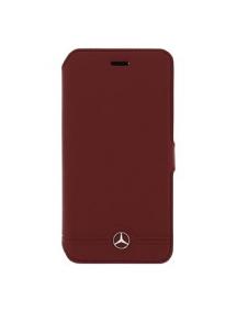 Funda libro Mercedes MEFLBKS6EMSRE Samsung Galaxy S6 G920