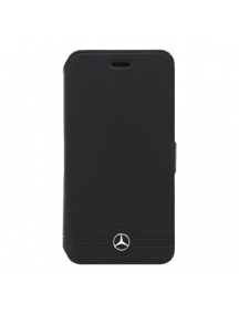 Funda libro Mercedes MEFLBKS6EMSBK Samsung Galaxy S6 G920