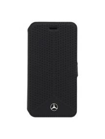 Funda libro Mercedes MEFLBKS6PEBK Samsung Galaxy S6 G920