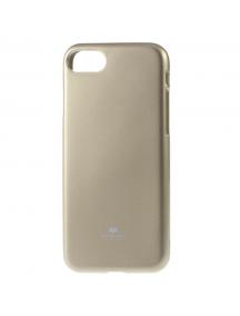 Funda TPU Goospery iPhone 7 Plus - 8 Plus dorada