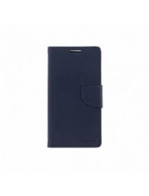 Funda libro TPU Goospery Bravo Diary iPhone 5S - iPhone SE azul