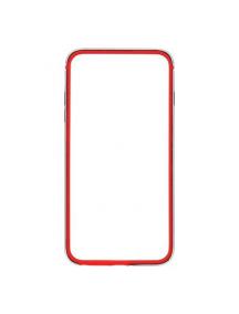 Bumper FEBPMP6BK Ferrari TPU iPhone 6/6S rojo - negro