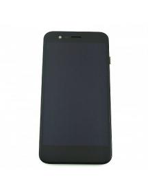 Display Alcatel Vodafone Smart Prime 7 VDF-600 con chasis