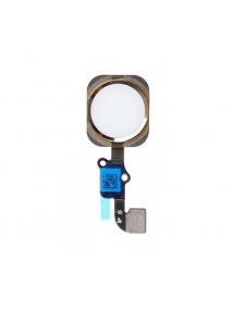 Cable flex de botón home iPhone 6 - 6Plus dorado