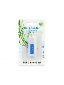 Lector de tarjetas de memoria USB 2.0 universal