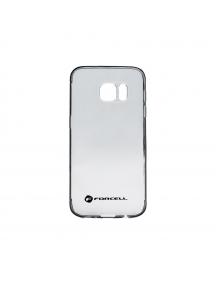 Funda TPU Forcell clear Samsung Galaxy S8 G950 negra