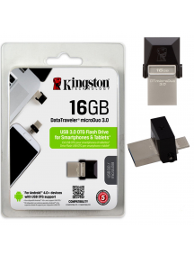Memoria USB Dual Drive 2.0 Kingston 16GB OTG