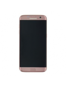 Display Samsung Galaxy S7 Edge G935 rosa dorado
