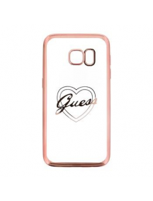 Funda TPU Guess Heart Samsung Galaxy S7 G930
