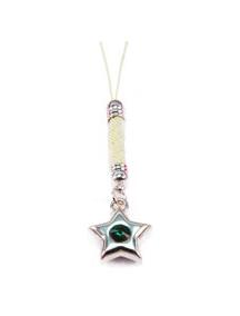 Colgante Swarowski Estrella esmeralda