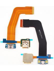 Cable flex de conector de carga + micro SD Samsung Galaxy Tab S 10.5 T800 - T805