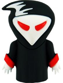 Memoria Mooster USB TOONS 16GB Skull red eyes