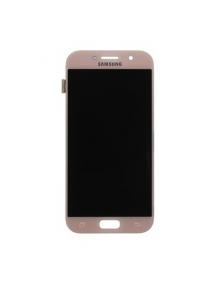 Display Samsung Galaxy A5 2017 A520 rosa