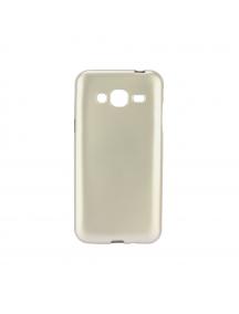Funda TPU Jelly Flash Samsung Galaxy J3 2016 J320 dorada