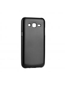 Funda TPU Jelly Flash Mat Samsung Galaxy J5 2016 J510 negra