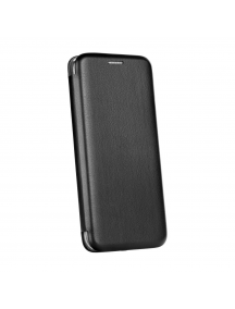 Funda libro Forcell Elegance iPhone 7 negra