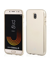 Funda TPU Goospery i-Jelly Samsung Galaxy J5 2017 J530 dorada