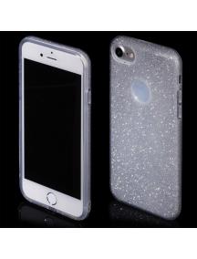 Funda TPU Blink iPhone 7 plata