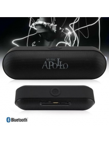 Altavoz Bluetooth Apollo con radio negro