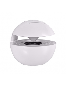 Altavoz Bluetooth Led Ball blanco