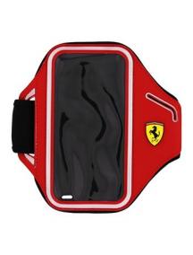 Funda brazalete sport neopreno Ferrari FESCABP6BK iPhone 6 - 6s roja