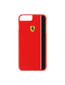 Protector trasero Ferrari Scuderia FECBSHCP7LRE iPhone 7 Plus - 8 Plus